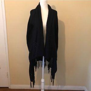 Knit black cardigan